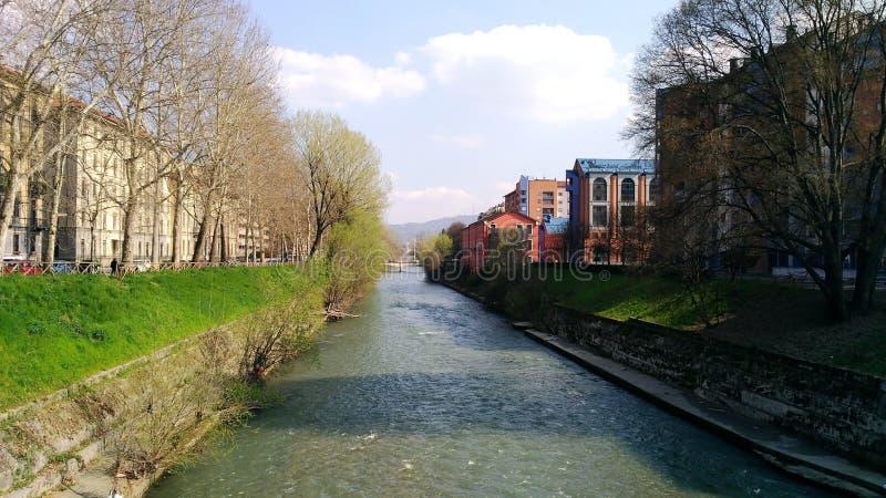 De herfst in Turijn stock foto's