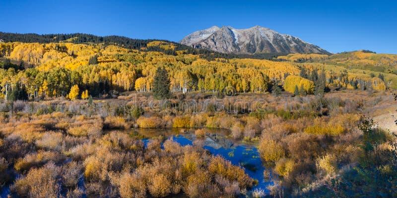 De Herfst van de Keblerpas royalty-vrije stock fotografie
