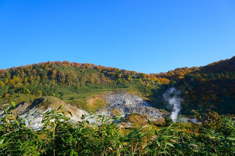 De herfst van Mt Hachimantai royalty-vrije stock foto