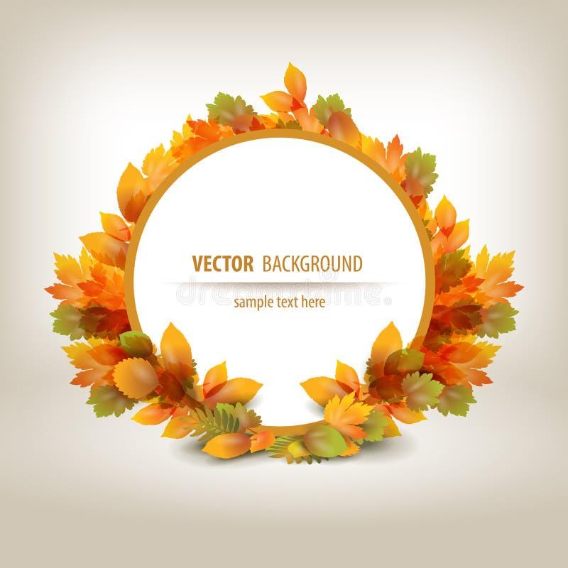 De herfst. Vectorformaat stock illustratie