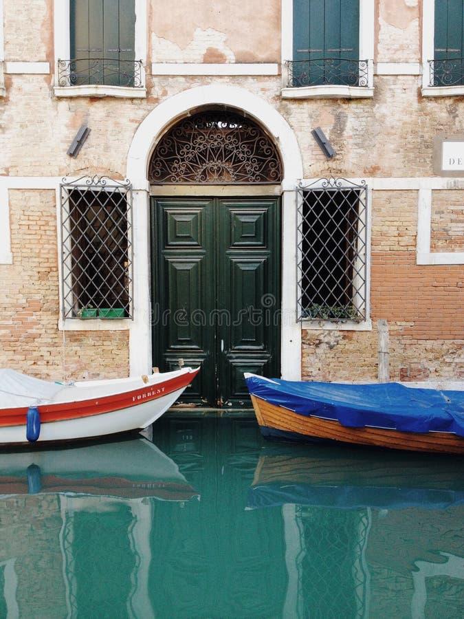 De herfst in Venetië stock afbeelding