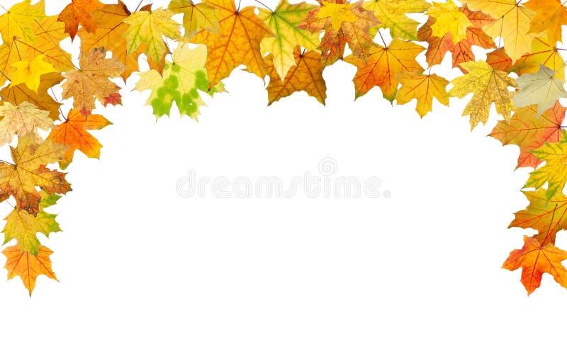 De herfstgrens stock foto's