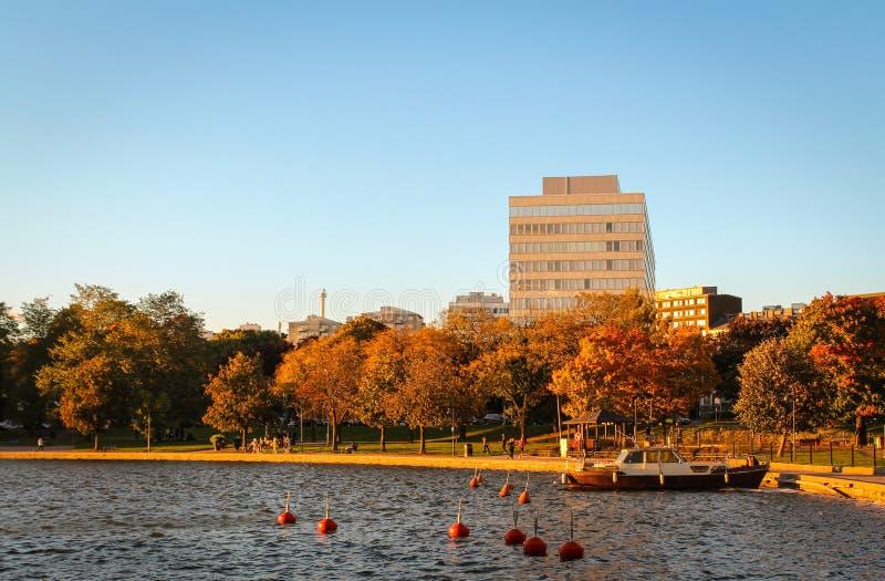 De herfststemming in Helsinki stock foto