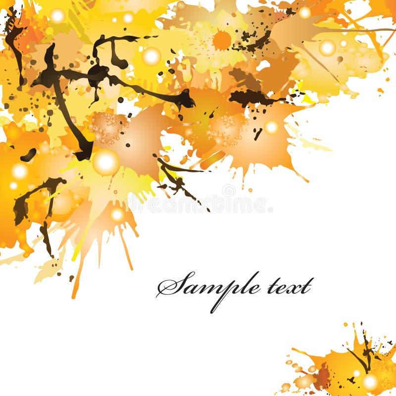 De herfstvlekken royalty-vrije stock fotografie