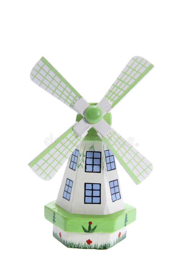 De Herinnering van de windmolen stock afbeelding