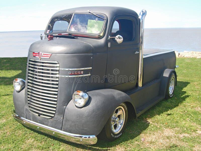 1940 de Herontworpen Vrachtwagen van Dodge COE royalty-vrije stock foto