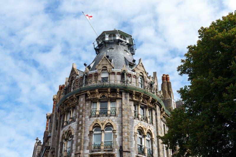 De Hertog van Cornwall Hotel, Plymouth, Devon, het Verenigd Koninkrijk, 20 Augustus, 2018 stock foto