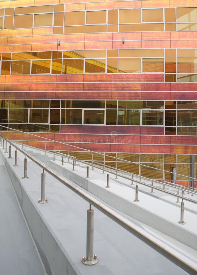De het bureaubouw 2 van het glas royalty-vrije stock afbeelding