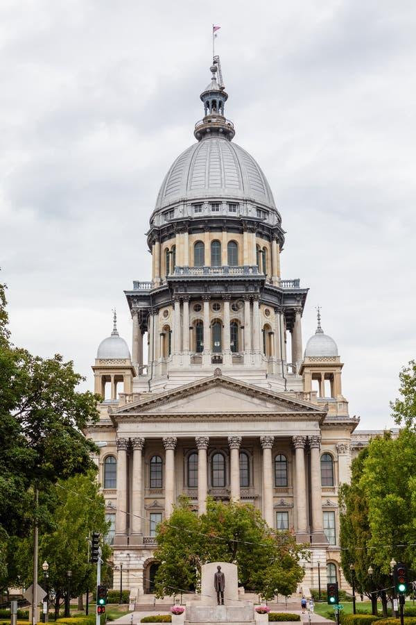 De het Capitoolbouw van de Staat van Illinois, Springfield royalty-vrije stock foto's