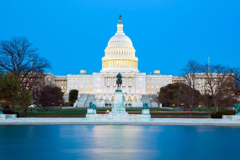 De het Capitoolbouw van de V.S. royalty-vrije stock afbeeldingen