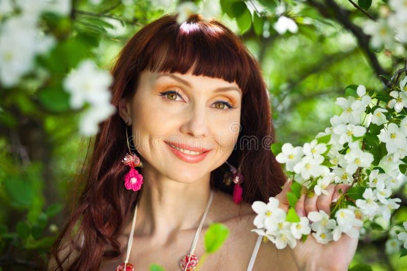De het glimlachen lente stock afbeeldingen