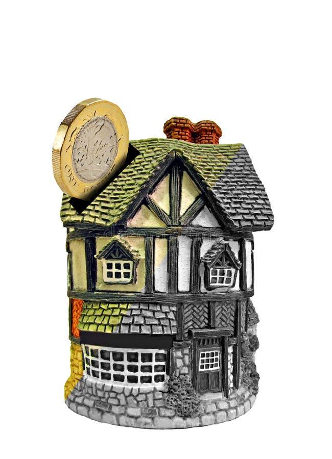 De het huisverbeteringen investeren hypotheek stock foto