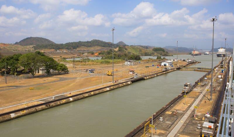 De het kanaalkustlijn van Panama royalty-vrije stock fotografie