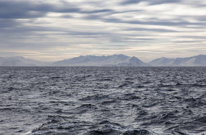 De het noordenkust van IJsland royalty-vrije stock afbeeldingen