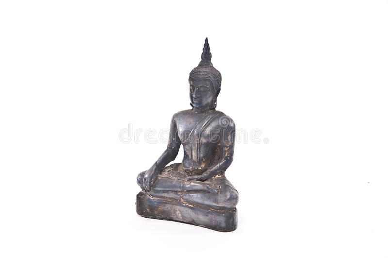De het standbeeldantiquiteit van Boedha stock afbeeldingen