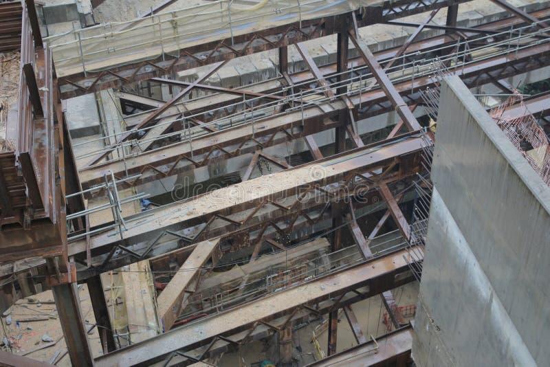 De het westen kowloon spoorweg ontwikkelt plaats stock fotografie
