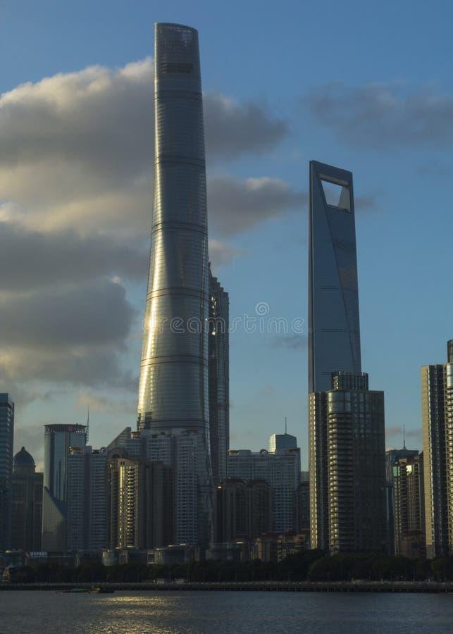 De het Zuidendijk van Shanghai stock fotografie