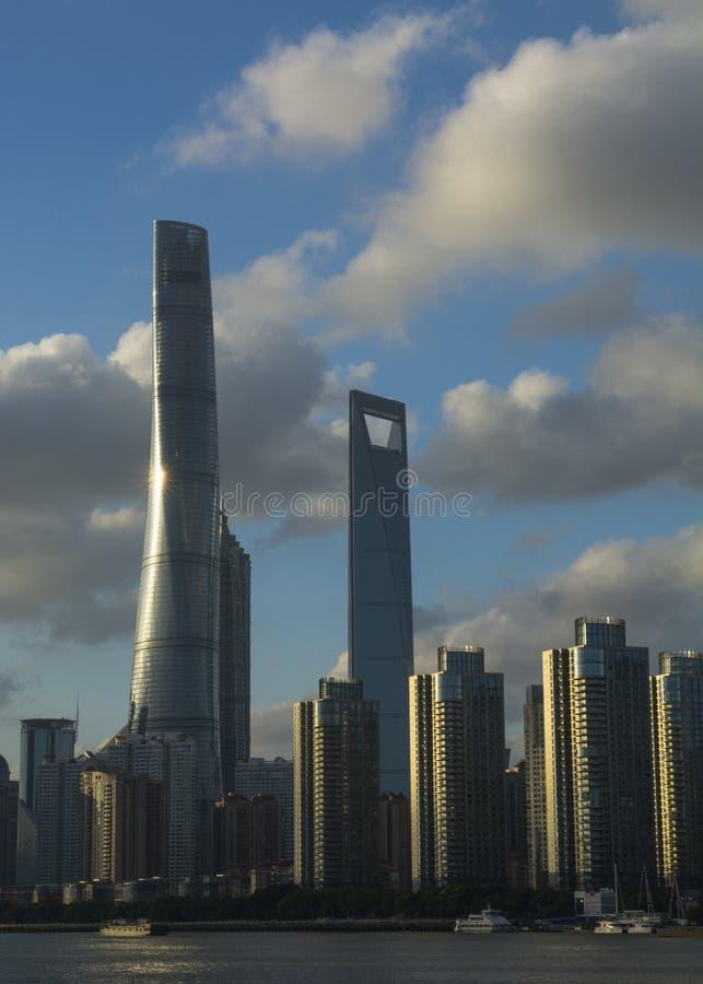 De het Zuidendijk van Shanghai stock foto's