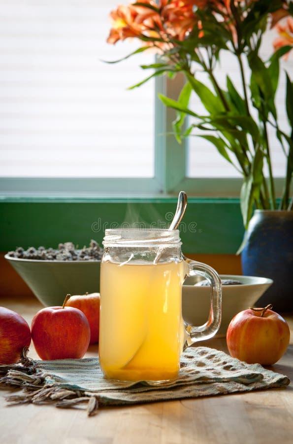 Download De Hete Azijn Van De Appelcider En Honingsdrank Stock Afbeelding - Afbeelding bestaande uit remedie, alkalisch: 107705337