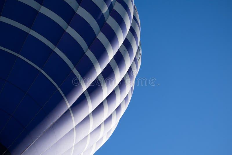 De hete luchtballon photgrphed in Bealton, toont de Vliegende Lucht van het Circus VA stock foto's