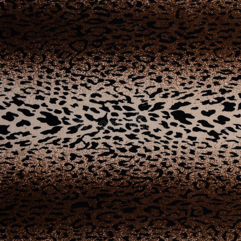 De hete naadloze achtergrond van de luipaardhuid stock fotografie