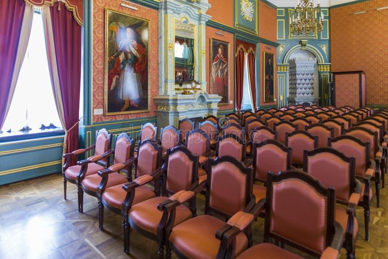 De Hetman-Zaal royalty-vrije stock afbeeldingen