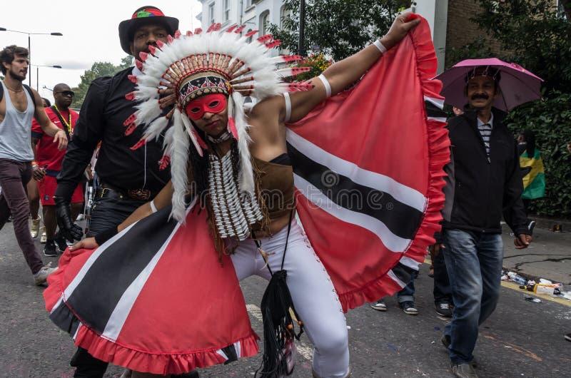 De Heuvel Carnaval 2008 van Notting royalty-vrije stock foto