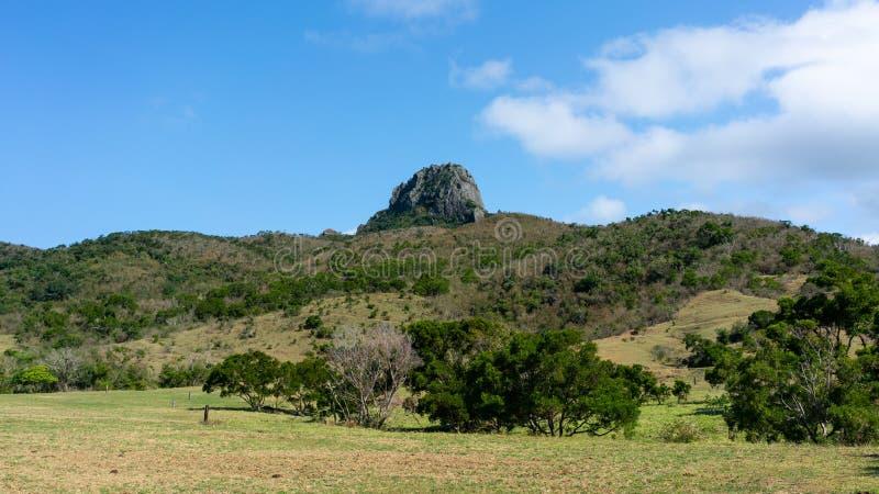 De heuvel van de Dajiansteen in nationale het parkmening van Kenting in Taiwan royalty-vrije stock afbeelding