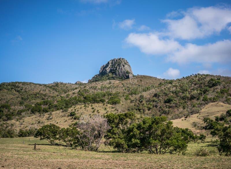 De heuvel van de Dajiansteen in nationale het parkmening van Kenting in Taiwan royalty-vrije stock foto