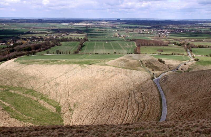 De heuvel van de Trog en van de Draak stock afbeelding