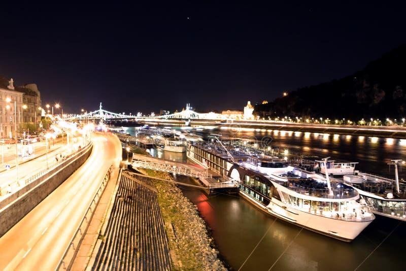 De Heuvel van Gellert, Boedapest stock afbeelding