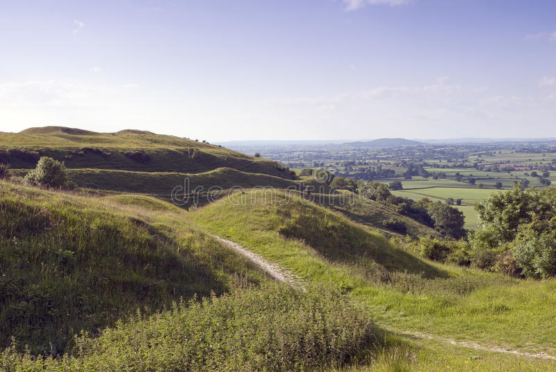 De Heuvel van Hambledon, Dorset royalty-vrije stock afbeelding