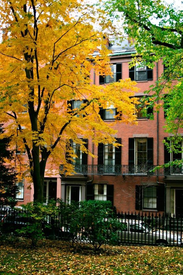 De Heuvel van het baken, Boston royalty-vrije stock afbeelding