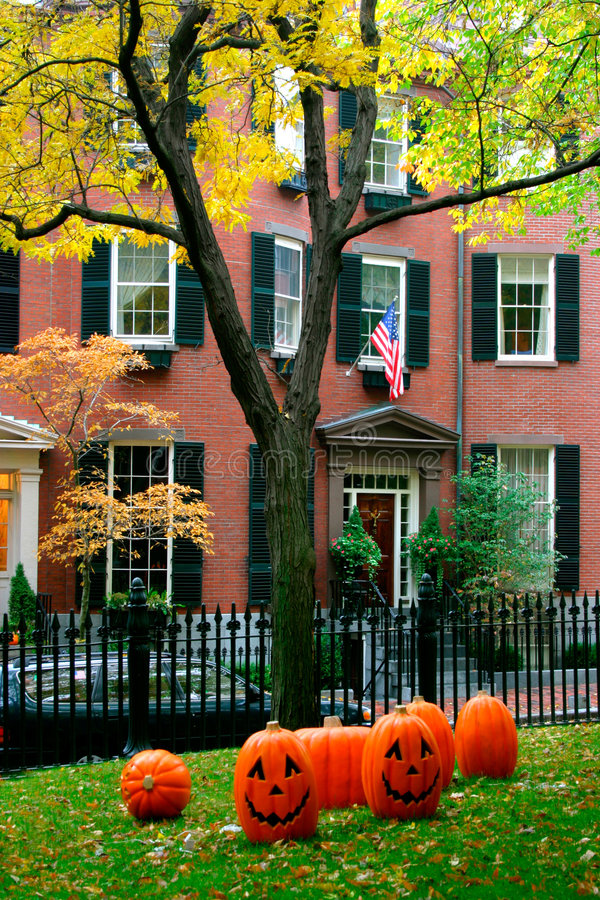 De Heuvel van het baken, Boston royalty-vrije stock foto