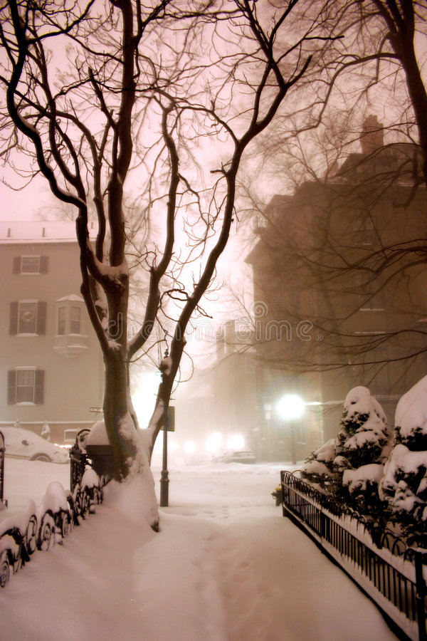 De Heuvel van het baken, Boston stock afbeelding