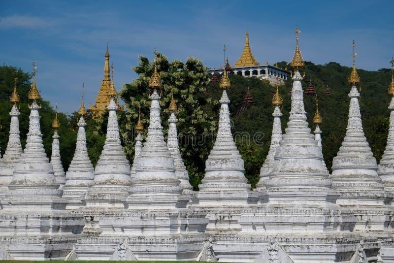 De Heuvel van Mandalay royalty-vrije stock foto