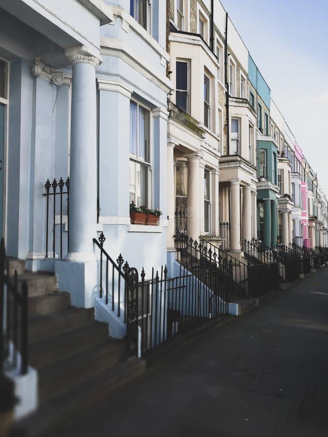 De heuvel van Notting stock fotografie