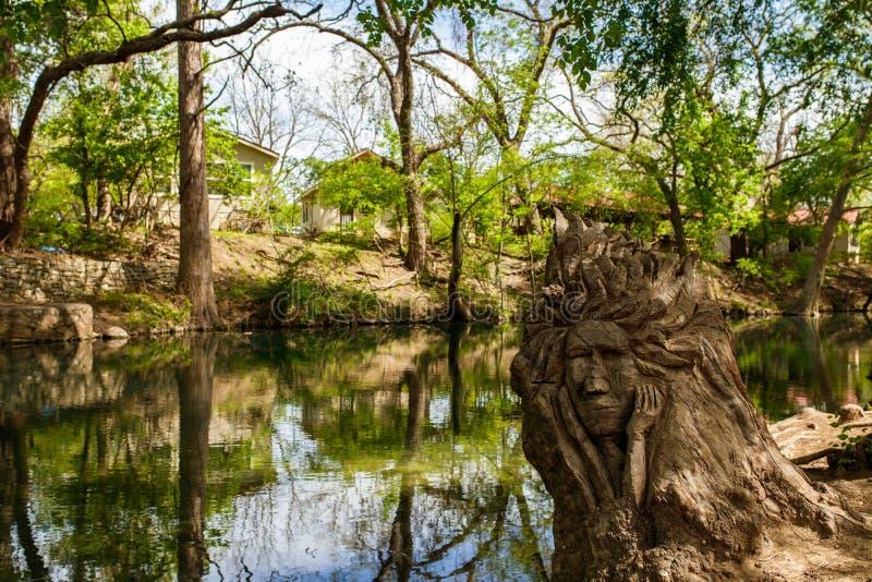 De heuvelland van Texas royalty-vrije stock foto's