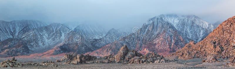 De Heuvels en Siërra Nevada Mtns van Alabama stock foto's