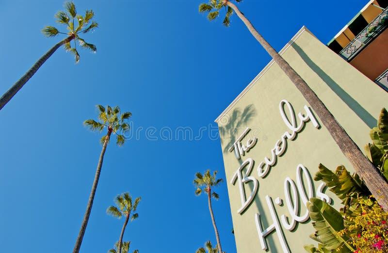 De heuvels van Beverly stock afbeelding