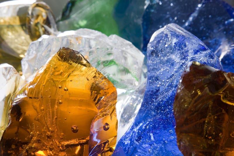 De heuvels van het glas stock afbeeldingen