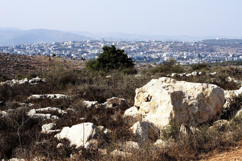 De Heuvels Van Samaria Royalty-vrije Stock Foto