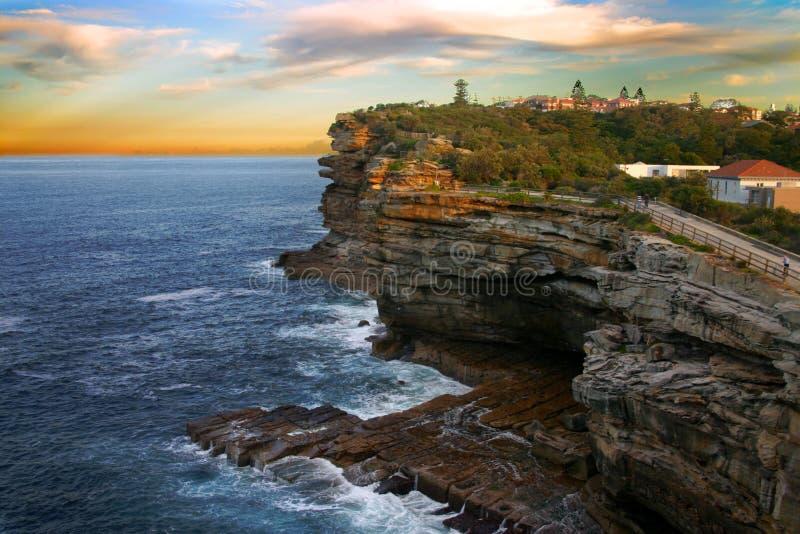 De hiaten, de Baai van Watson, Sydney stock fotografie