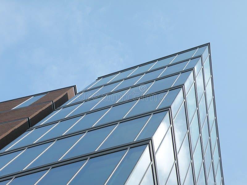 De hight-stijging moderne bouw stock afbeeldingen