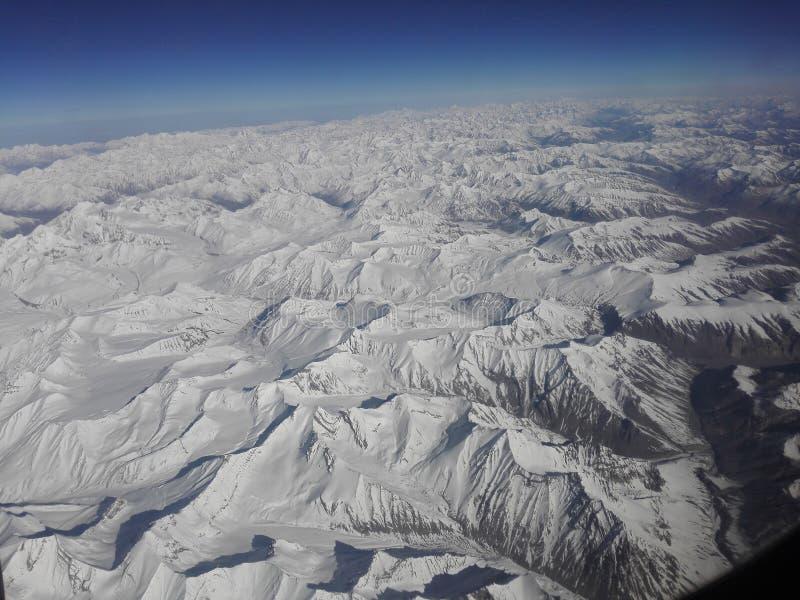 De Himalayan-Waaier royalty-vrije stock afbeelding