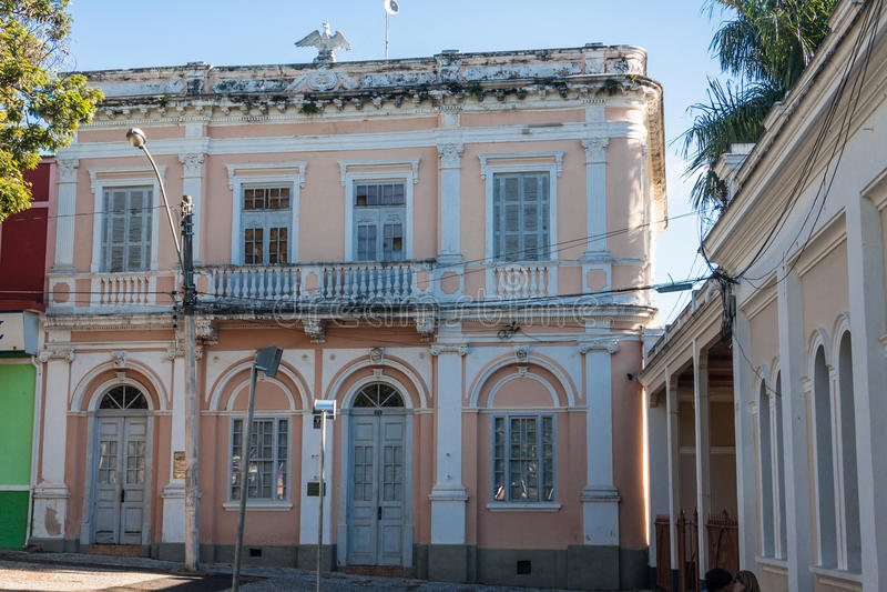 De historische Bouw in Amparo stock foto's