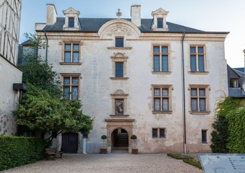 De historische Bouw Bourges Frankrijk royalty-vrije stock fotografie