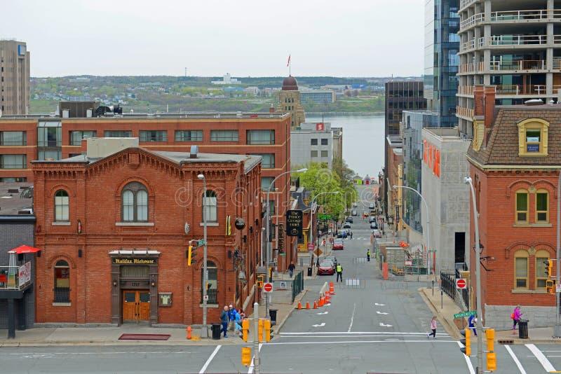 De historische Bouw, Halifax, Nova Scotia, Canada royalty-vrije stock afbeeldingen