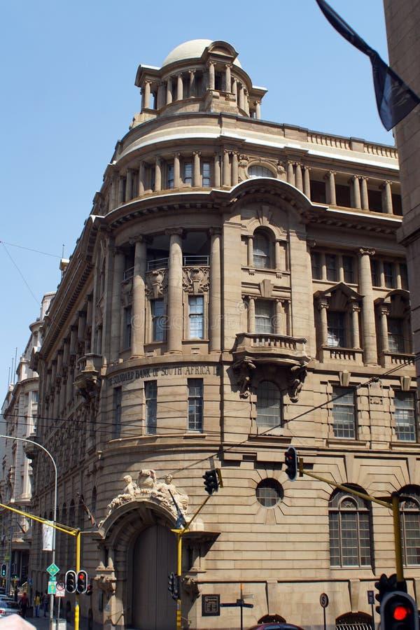 De historische bouw in Johannesburg van de binnenstad royalty-vrije stock afbeelding