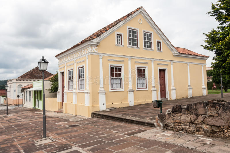 De historische Bouw Lapa Parana stock foto's